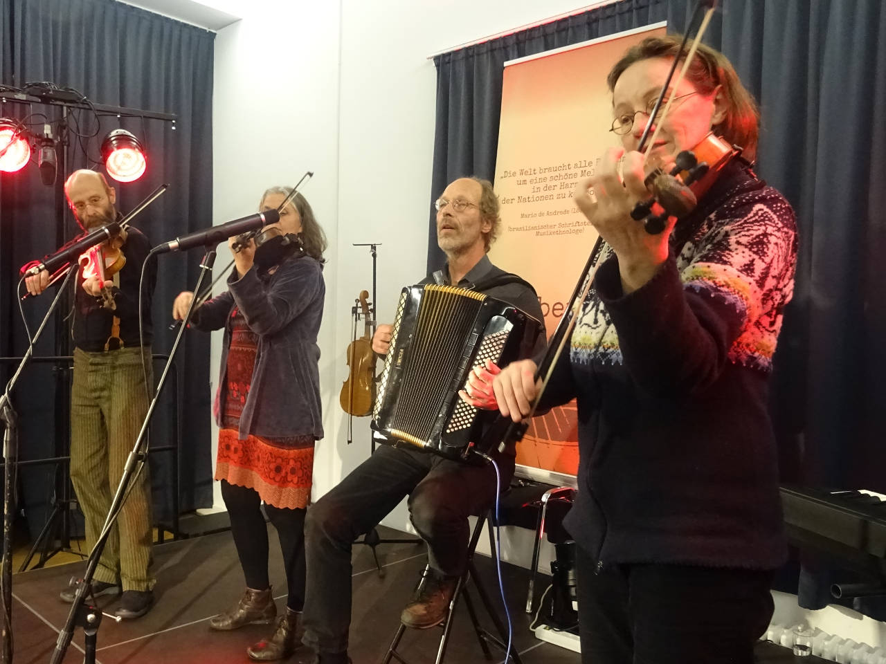 Four Fiddlers in Arnsberg