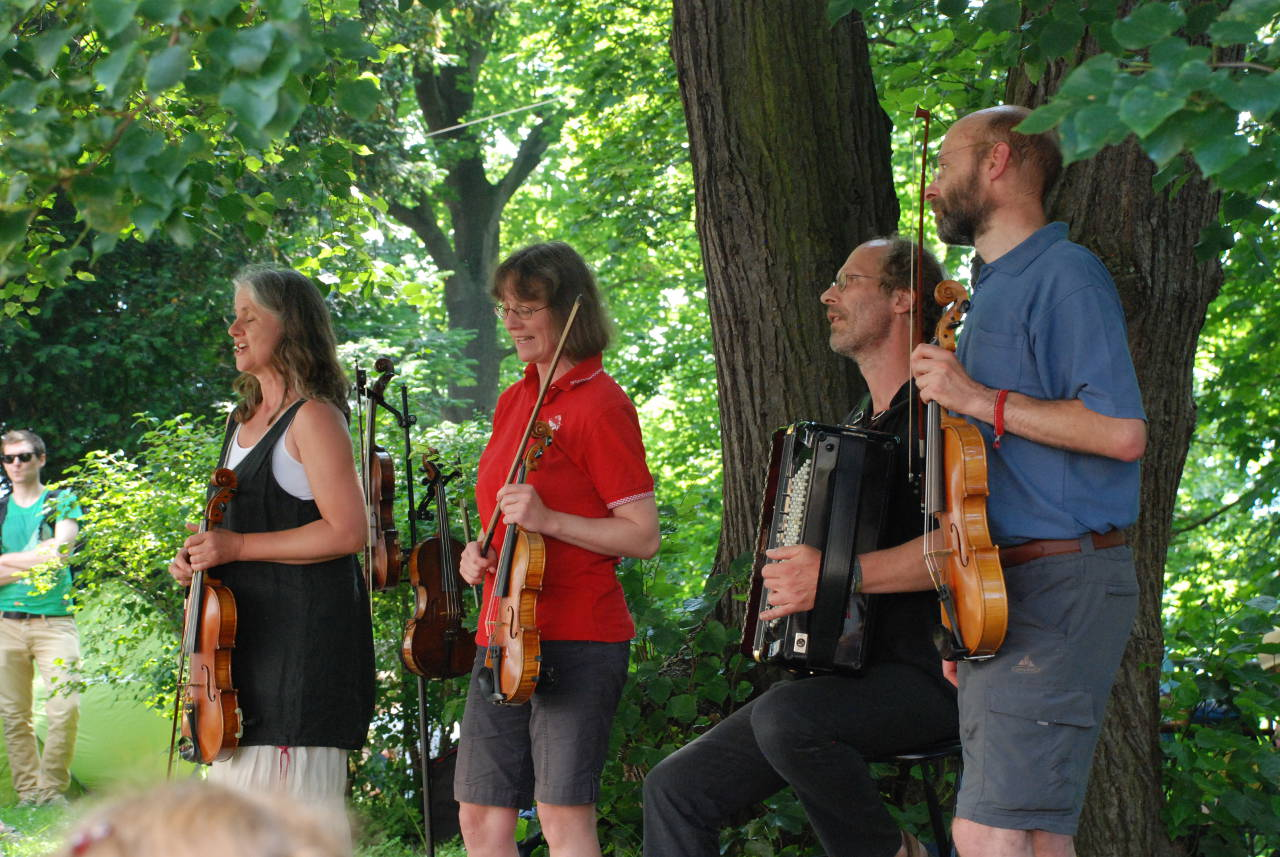 Four Fiddlers in Wermelskirchen